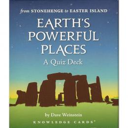 Earth''s powerful places - A quiz deck