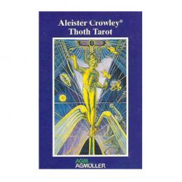 Aleister Crowley Thoth Tarot Mini PT. UDSOLGT