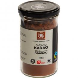 Kakao fairtrade 10-12% Ø