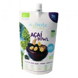 Puree Acai-Banan-Passionfrugt økologisk250g Authentic fruits