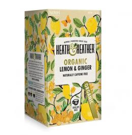 Citron og ingefær økologisk (Heath&Heather)